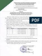 PENG-91 Pelaksanaan Capacity Building Dan Orientasi Studi Mahasiswa Tugas Belajar