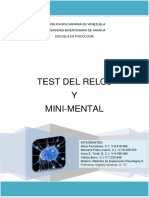 Trabajo Final - Test Del Reloj y Minimental