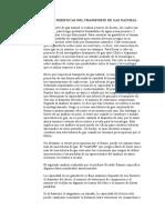 Características Del Transporte de Gas Natura1