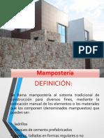 14. MAMPOSTERIA