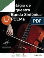 Estágio de Orquestra e Banda Sinfónica (2017)- POEMa
