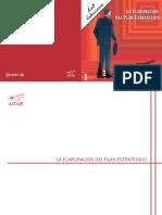 Manual de Elaboración de Plan Estratégico.