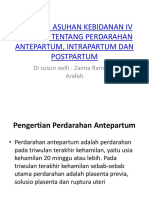 Makalah Asuhan Kebidanan IV Patologi Tentang Perdarahan Antepartum