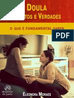 E-book Doula, 5 Mitos e Verdades, Eleonora Moraes