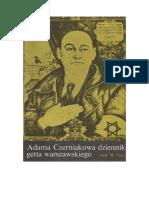 Adama Czerniakowa Dziennik Getta Warszawskiego - 1983