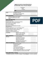 Fichas de Deteccion de Los Problemas de Aprendizaje