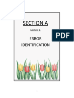ENGLISH MODULE SECTION A ERROR IDENTIFICATION.doc