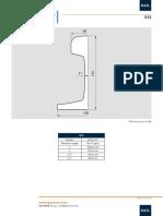 s33 Rail Data Sheet Metric