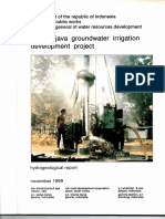 Central Java Groundwater Irrigation Development Project