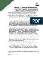 Handy - Gods Of Management (Resumen)