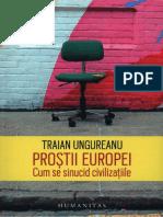 Traian Ungureanu - Prostii Europei