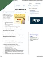 81 Preguntas Básicas Para La Entrevista de Trabajo _ GestioPolis