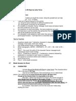 Handouts for Literature Component (Section D)