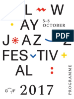 Galway Jazz Festival 2017 Programme
