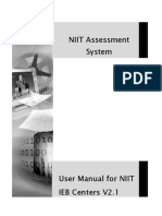NAS User Manual for IEB Centers V3