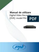 Manual Romana DVR PNI 3716