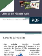 Criação de Paginas Web (1)
