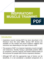 Inspiratory Muscle Training