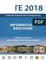 GATE 2018 Information Brochure_v1