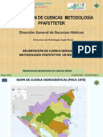 Delimitación de Cuencas_pfafstetter