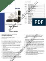 Rotation 1-3kVA Operating Manual