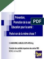 2009-PPT Preventie, Educatie pt  sanatate, Promovarea   sanatatii.pdf