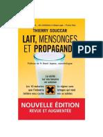 Lait, mensonges et propagande  - Thierry Souccar .pdf