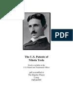 The U.S. Patents of Nikola Tesla