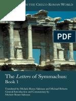 SYMMACHUS Letters 1 (αγγλικά).pdf