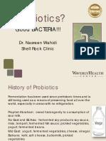 Probiotics Good Bacteria