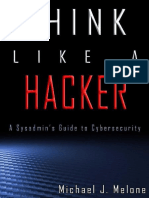 Think Like a Hacker by Michael J. Melone