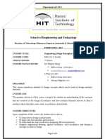 IME Eng Design 1 EIM 216 Course Outline
