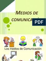 Los Medios de Comunicación - 1 Ro Sec