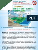 Cap III Acción Geológica de Aguas Superficiales..