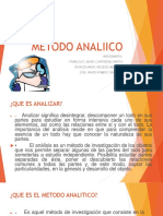 METODO ANALIICO