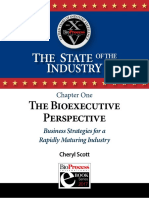 Ch 1 the Bioexecutive Perspective Business Strategies for a Rapidly Maturing Industry