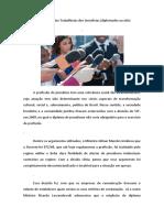 Os Atuais Direitos Trabalhistas Dos Jornalistas (Diplomados Ou Não)