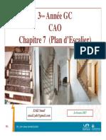 Ch7 CAO GC Plan d'Escalier
