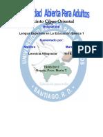 Lengua Española Leonicia