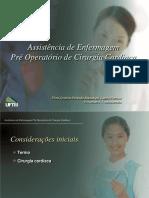 Assistência de Enfermagem Em Pré Operatório Cirúrgia Cardíaca