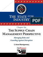 Ch 6 the Supply-Chain Management Perspective Managing Risks and Guanding Against Disruption