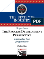 Ch 7 the Process Development Perspective Implementing Tools for Optimization