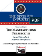 Ch 8 the Manufacturing Perspective Current Approaches to Bioprocess Intensification