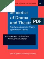 Semiotics of Drama & Theatre