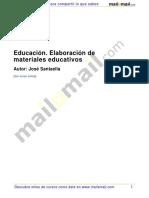 Educacion Elaboracion Materiales Educativos 33648