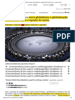 Mises Brasil - A Diferença Básica Entre Globalismo e Globalização Econômica