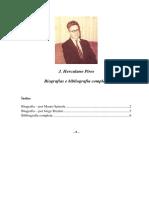 J Herculano Pires - Biografias e Bibliografia