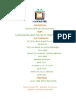 analisis de sociologia de la educacion.docx