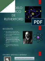 El Modelo Atómico de Rutherford