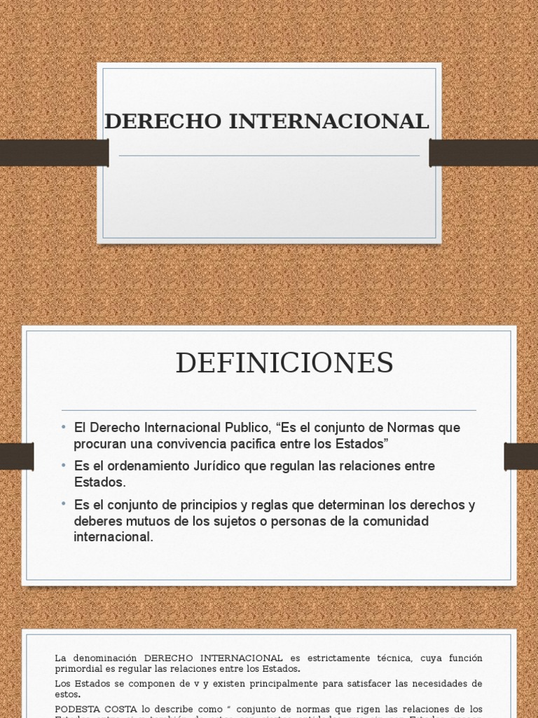 derecho internacional publico barboza pdf gratis
